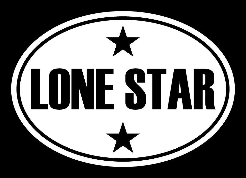 Oval LONE STAR STATE Decal Car Decal TX Sticker Texas Cut Vinyl - Custom vinyl decals york pa