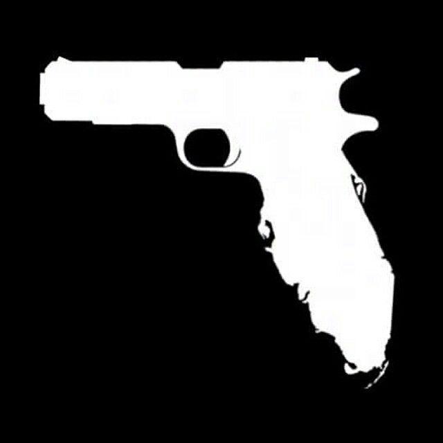 Limitlessvinylcom Florida Gun Decal Sticker Lover Pinterest - Custom shotgun barrel stickers
