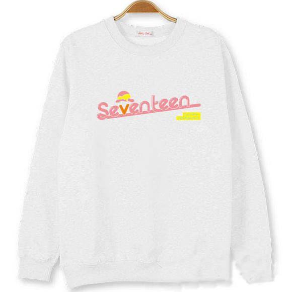 Kpop Seventeen Sweater Hoodie Pullover Very Nice Sweatershirt Wonwoo