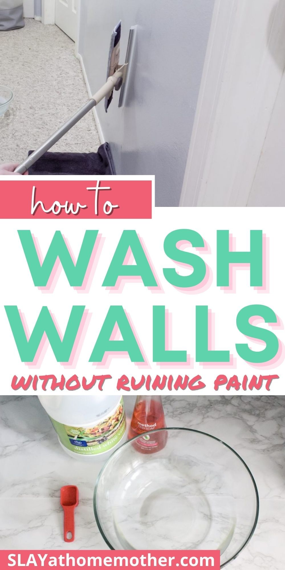 How To Clean Walls Without Removing Or Discoloring Paint In 2020 Cleaning Walls Cleaning Painted Walls Washing Walls