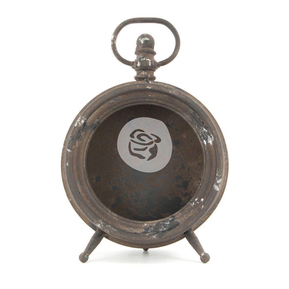 Prima Marketing Altered Metal Frame Clock Metal Clock Metal Clock