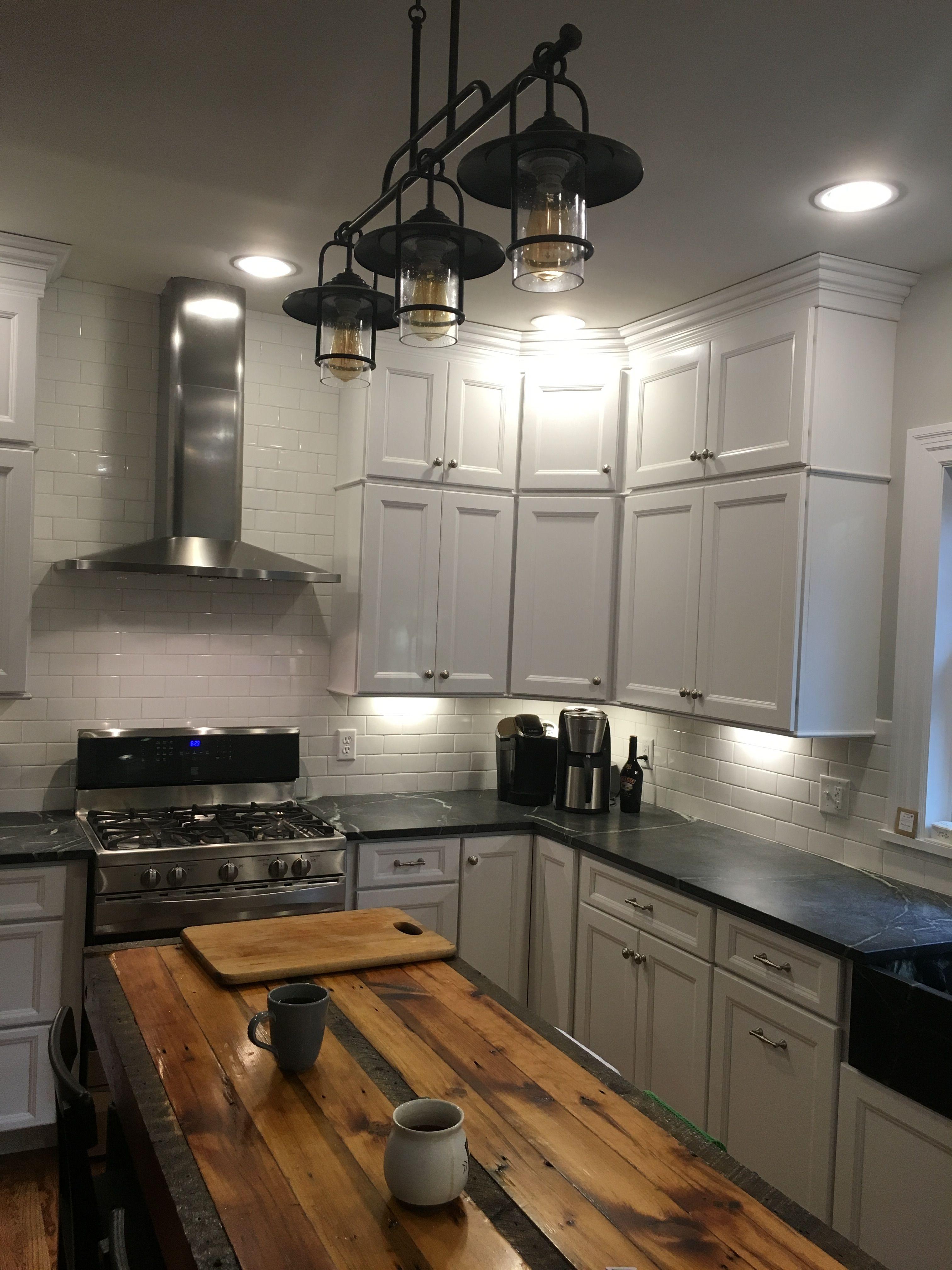 Kabinart cabinets with soapstone countertops | Soapstone ...