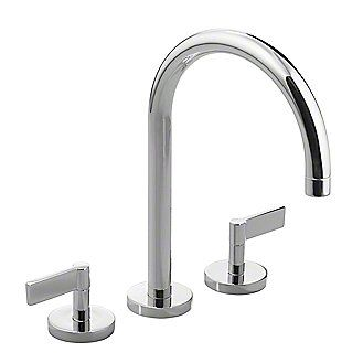 Gooseneck bathroom faucet