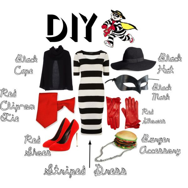 hamburglar diy halloween costume hamburgler mcdonalds