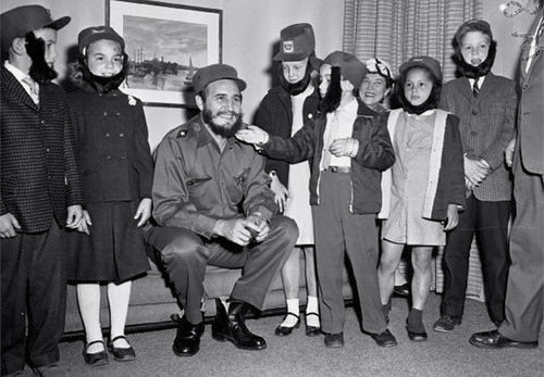 Fidel Castro, New York, 1959