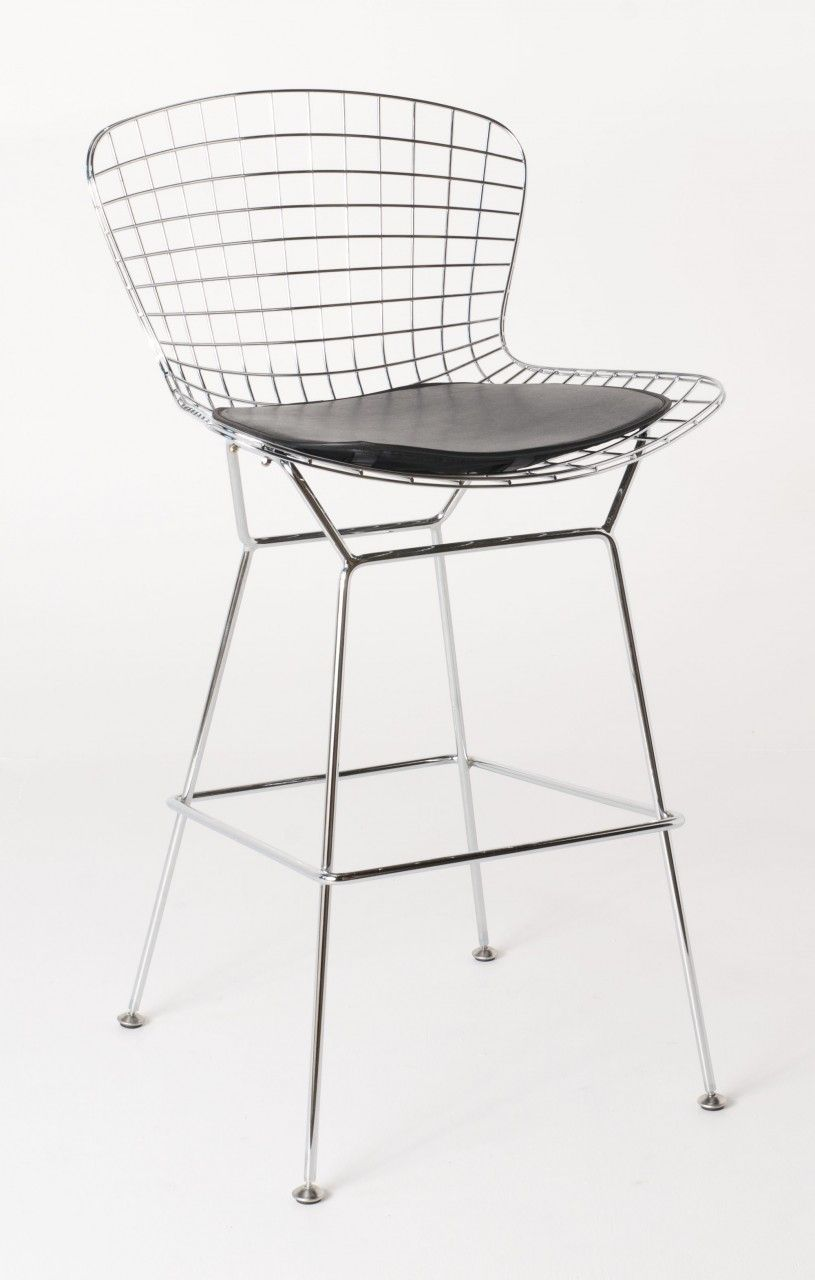 Wondrous Replica Harry Bertoia Wire Bar Stool 71Cm Chrome Ocoug Best Dining Table And Chair Ideas Images Ocougorg