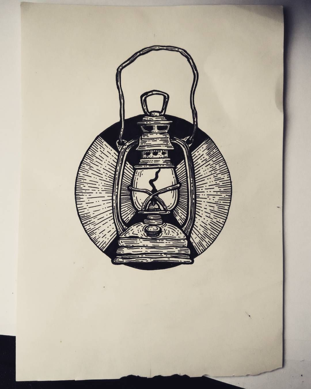 Ravenfromthenorth Lantern Drawing Lantern Tattoo Lantern Illustration