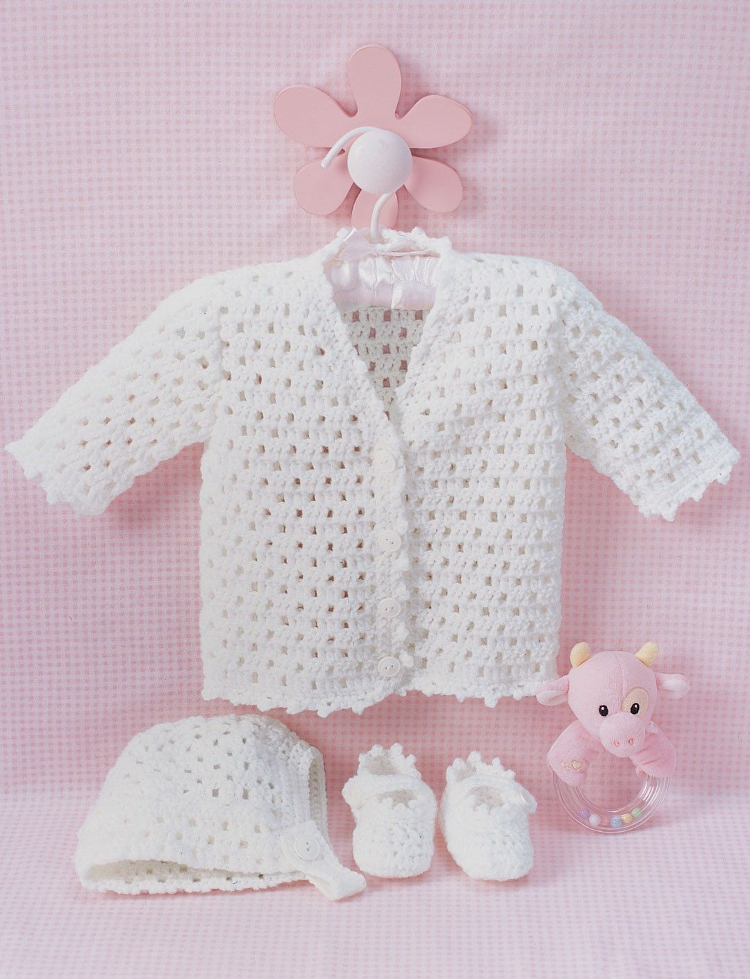 Yarnspirations.com - Bernat Lacy Set to Crochet | Yarnspirations ...