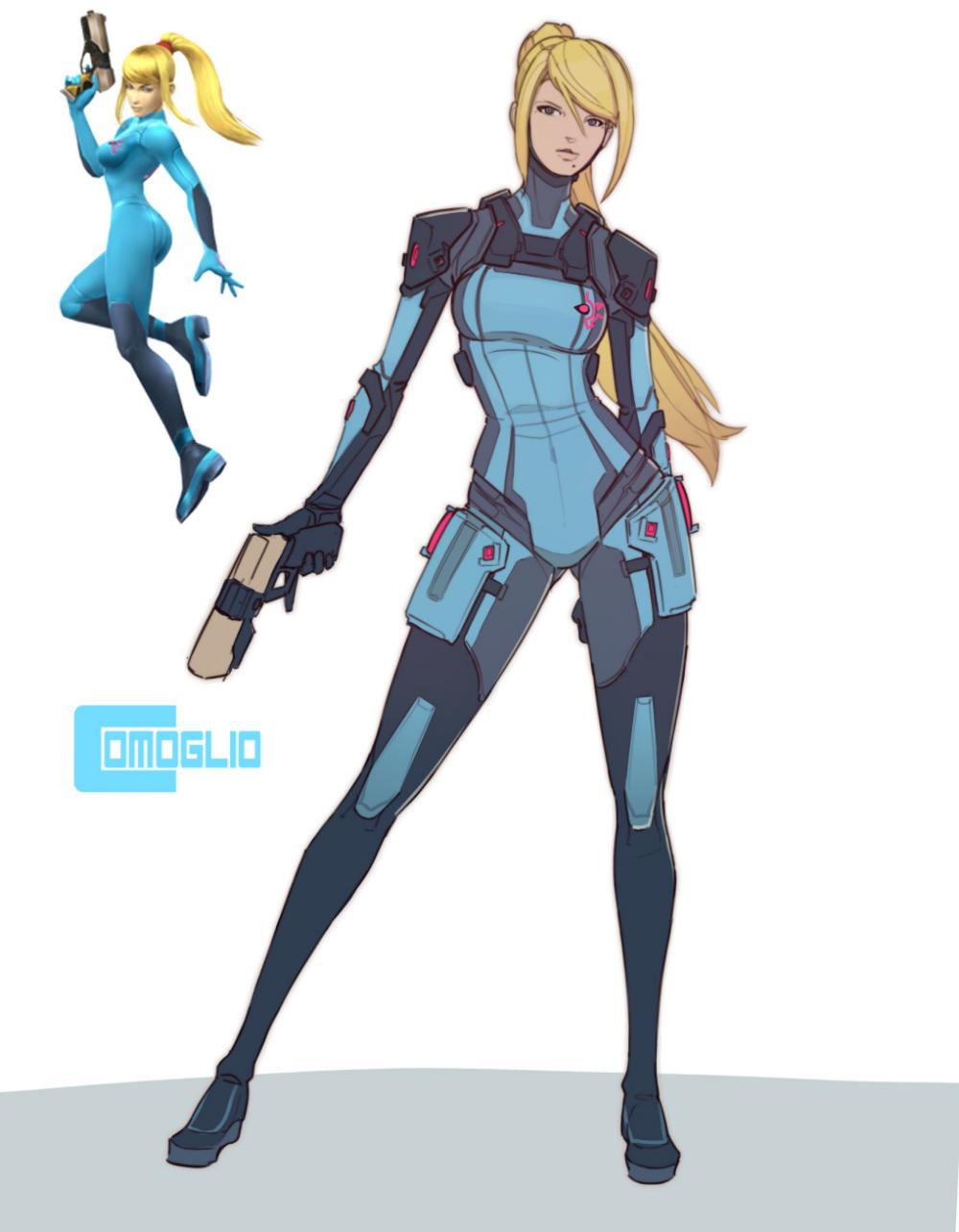 Comoglio on Twitter | Metroid samus, Metroid, Zero suit samus