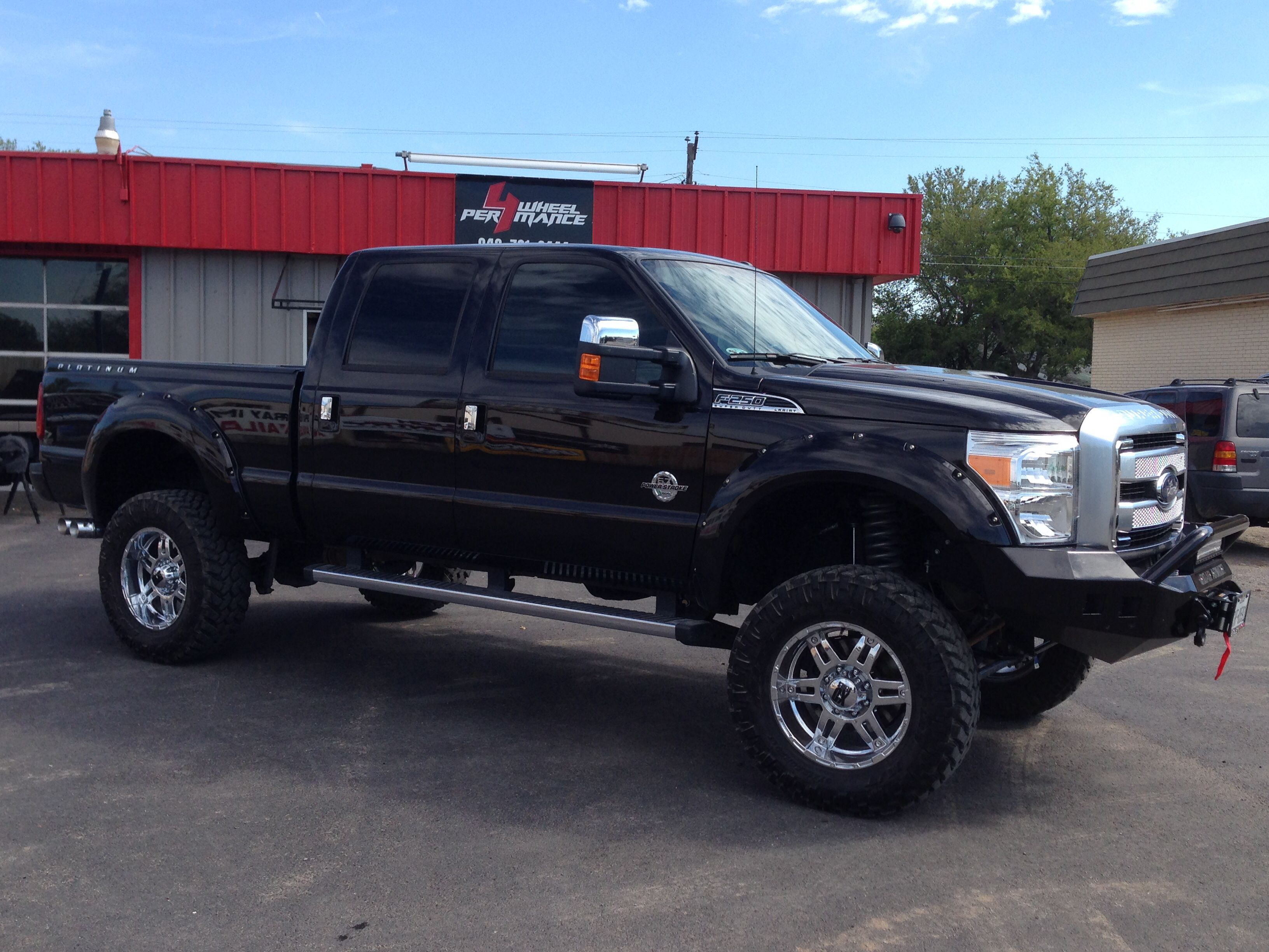2013 ford f 250 platinum edition 6 rough country lift 20 xd series