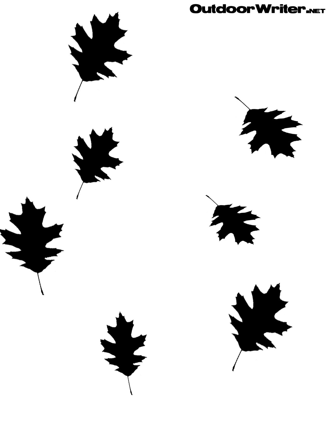 Leaves Pattern Duck Boat Stencil Stuff To Try