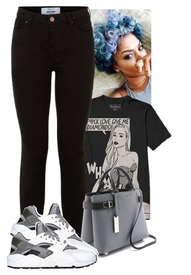 """""""Give Me Diamonds . """" by abriannaj ❤ liked on Polyvore featuring Michael Kors and NIKE"""