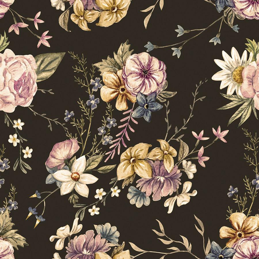 Victorian Flora In 2021 Vintage Floral Wallpapers Floral Wallpaper Victorian Wallpaper