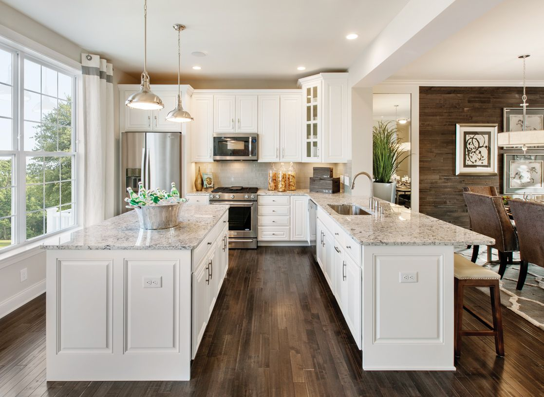 Rivington By Toll Brothers The Village Collection Is An Outstanding New Home Community In Kitchen Cabinets And Countertops Rustic Home Design Kitchen Design