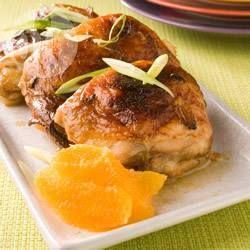 Foto da receita: Frango com laranja ao forno