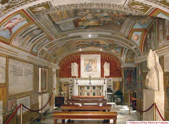 Necropoli, Basilica Papale - SAN PIETRO, Città del Vaticano