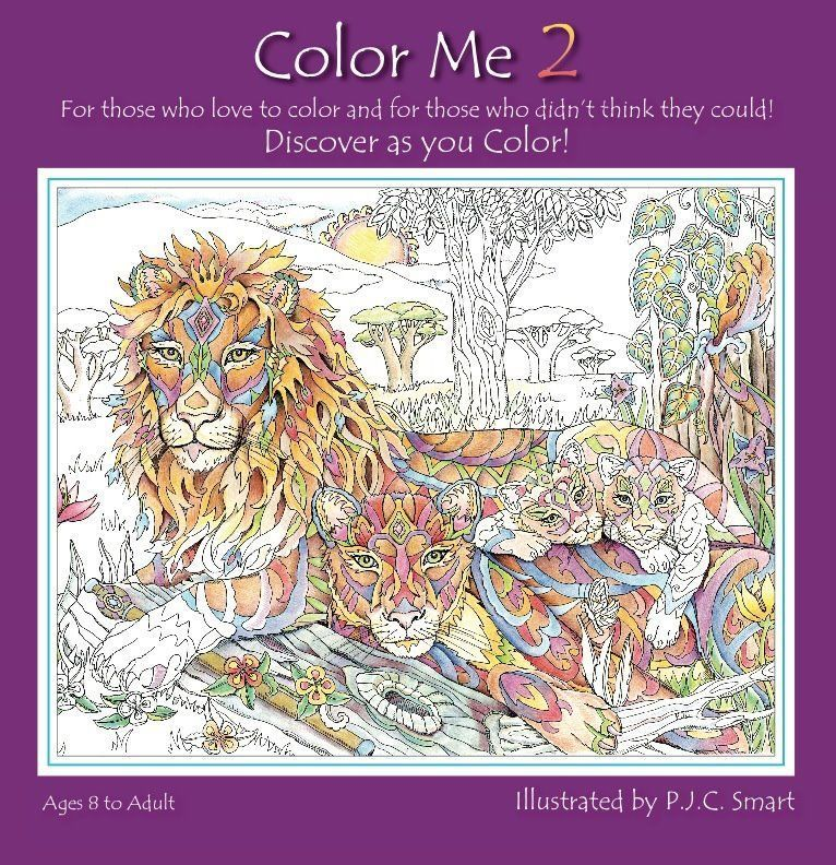 Color Me Your Way Coloring Book 2 by Pamela J Smart NEW & SEALED! in