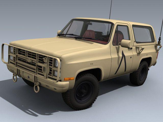 M1009 Cucv M1008 M1010 Army Usarmy Truck Blazer Marines Airforce
