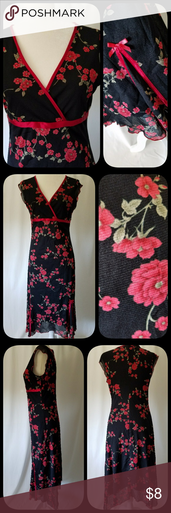 Black red rose dress rose dress rose and conditioning