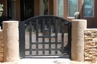 Southwest Iron Works Screen Doors Tucson Window Grills Tucson Model 612 Gate Gate Model Iron