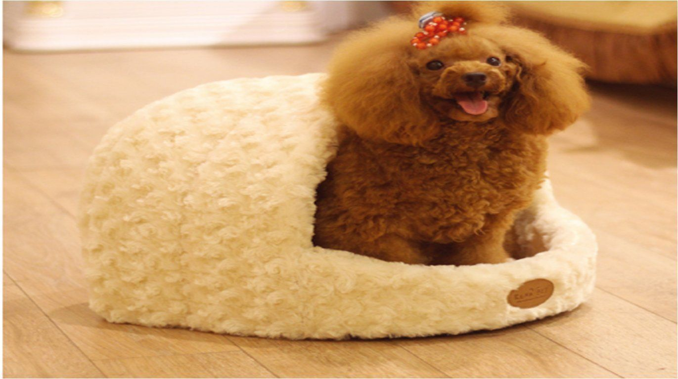 Luxury Pet Kennel Removable Warm Dog Bed Soft
