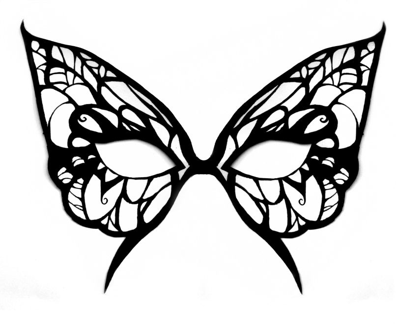 butterfly mask template by michanxxxsakura on deviantart
