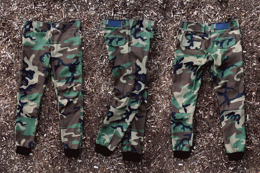 KITH Blue Label Mercer Pant - Woodland Camo | Apparel | Kith NYC
