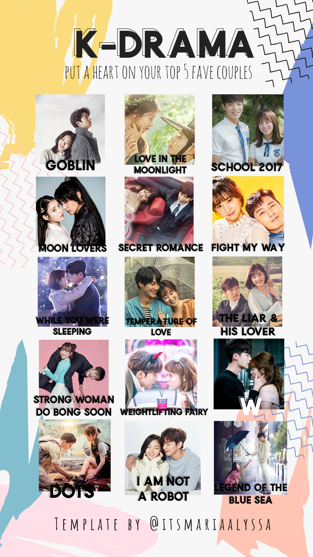 Latest Funny Couple  K-Drama Couples - Free Instagram Stories Template by @itsmariaalyssa 3