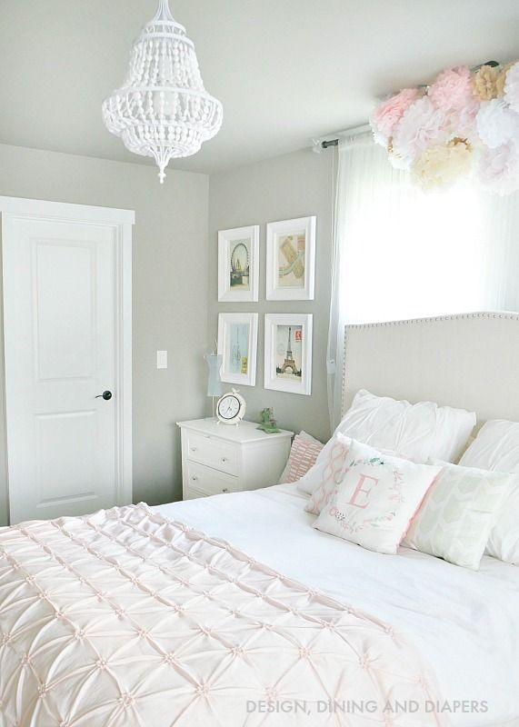 Whimsical Little Girl S Room Reveal Pink Bedroom Decor White