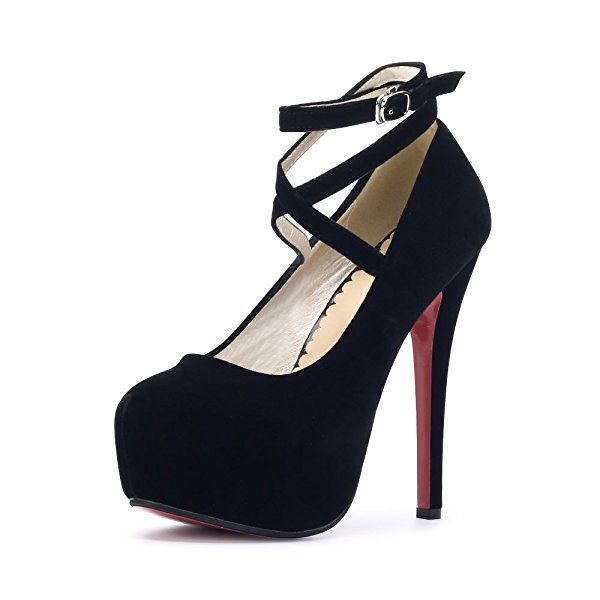 Zapatos negros Tacón de aguja Scothen para mujer MO7y7T68K3