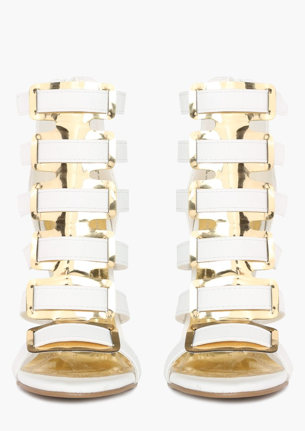 Angelo Wedge #gold #white