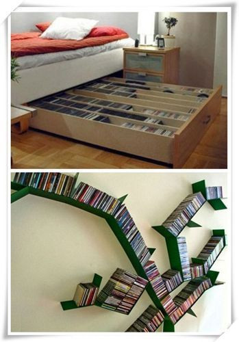 ? 20+ Creative DVD Storage Ideas With C?nv?nt??n?l St?l?? (DIY | Dvd storage Storage ideas and Dvd movie storage  sc 1 st  Pinterest : creative dvd storage solutions  - Aquiesqueretaro.Com