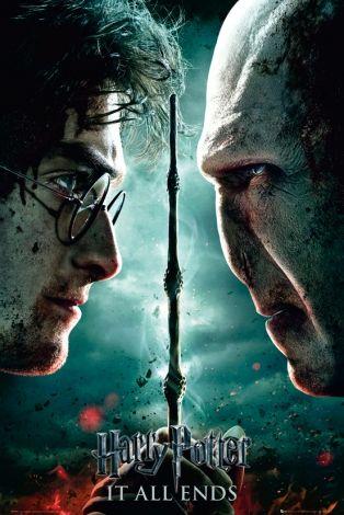 Harry Potter 7 Part 2 Teaser Voldemort Harry Plakat Filmowy Nice Wall Harry Potter Vs Voldemort Harry Potter Funny Deathly Hallows Part 2