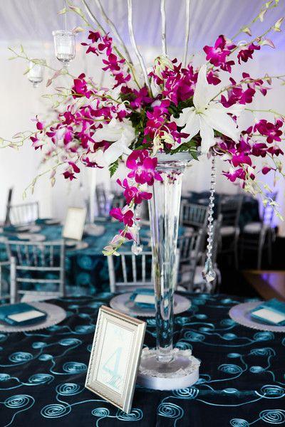Teal White Purple Spring St Petersburg Waterfront Wedding
