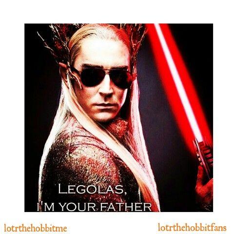 Legolas, I am your father. #Thranduil #LeePace @leepace # ...