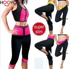 f0dc3a5bdc Hot Women Yoga Pants Thermo Neoprene Sweat Sauna Suit Body Shaper Yoga  Leggings