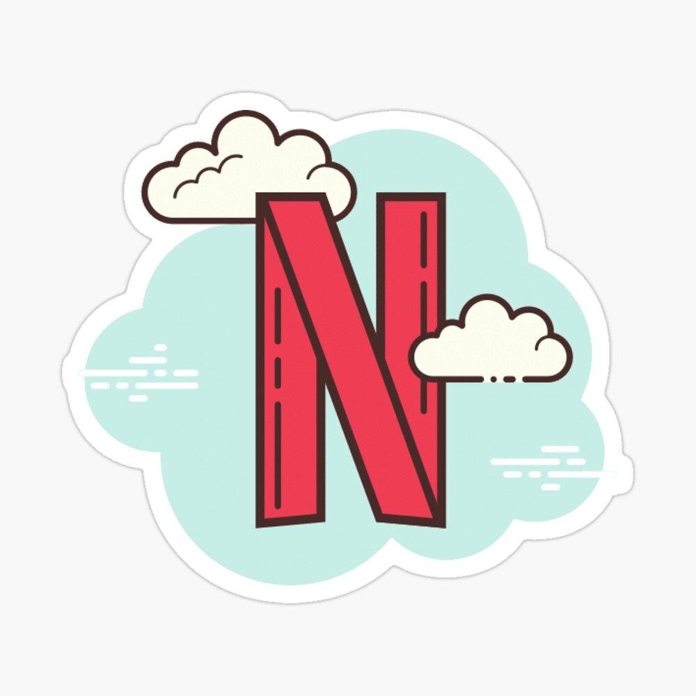 'Netflix Sticker pack' Sticker by Ella Way