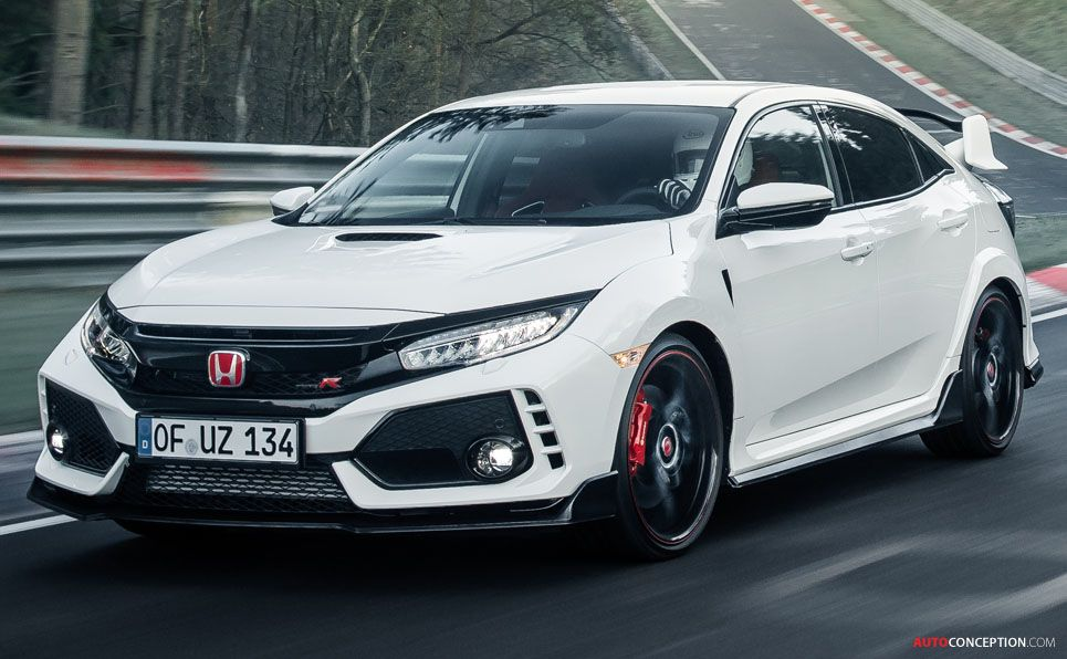 2017 Honda Civic Type R Sets New Nurburgring Lap Record For Front Wheel Drive Cars Autoconception Com Honda Civic Type R Honda Civic Honda