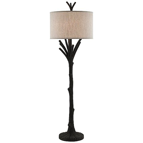 Currey Company Cream Arboria Floor Lamp