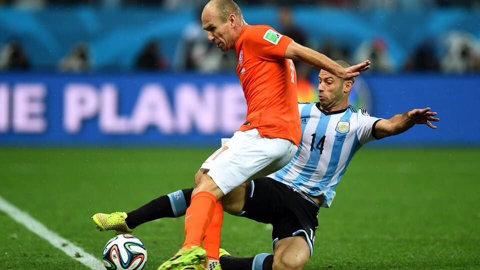 Holland and Argentina game