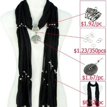Amazon scarf accessories diy scarf make jewelry scarf amazon scarf accessories diy scarf make jewelry scarf yourself different solutioingenieria Image collections
