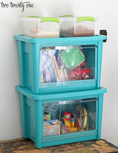 Rubbermaid All Access Organizers   Love The Clear Plastic Doors!