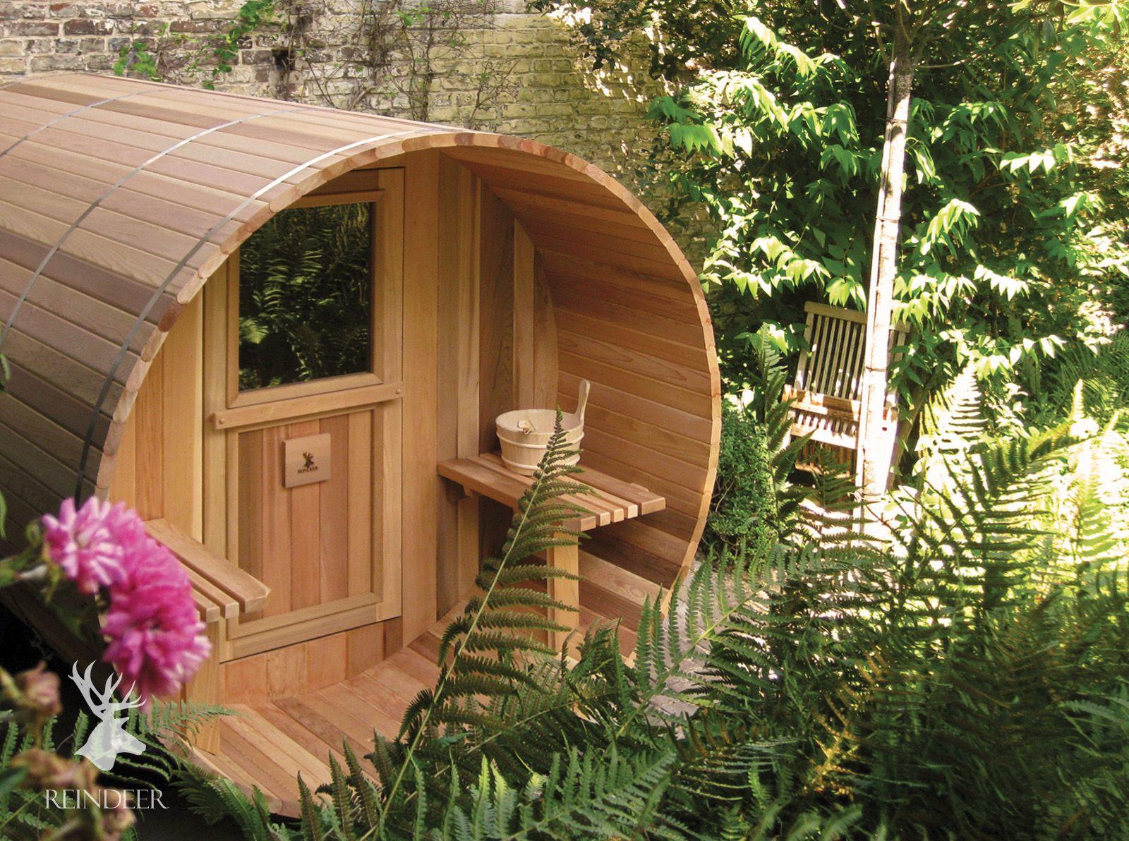 barrel sauna diy natural pool pinterest