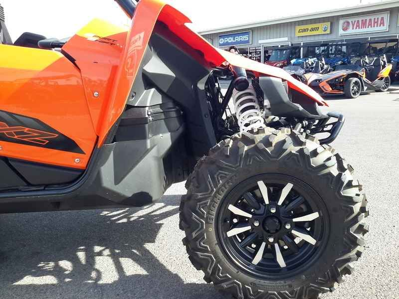 New 2017 Yamaha YXZ1000R SS Blaze Orange/Black ATVs For Sale in Nevada. 2017 Yamaha YXZ1000R SS Blaze Orange/Black, 2017 Yamaha YXZ1000R SS Blaze Orange/Black GRAB A GEAR <p>The new YXZ1000R SS puts pure sport performance at your fingertips with an all-new 5-speed sequential Sport Shift (SS) transmission with automatic clutch.</p> Features may include: <li>All-New Yamaha Sport Shift 5-Speed Sequential Shift Transmission</li><p>Yamaha breaks new ground with Yamaha Sport Shift, a sequential…