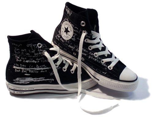 Cobain's Chucks | Converse shoes, Converse, Chuck taylors