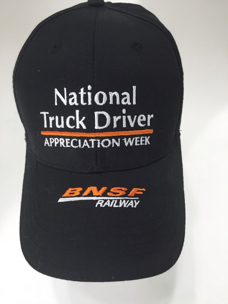 8d709cc0065 National Truck Driver Appreciation Week BNSF Railway Hat Cap Adjustable  Close