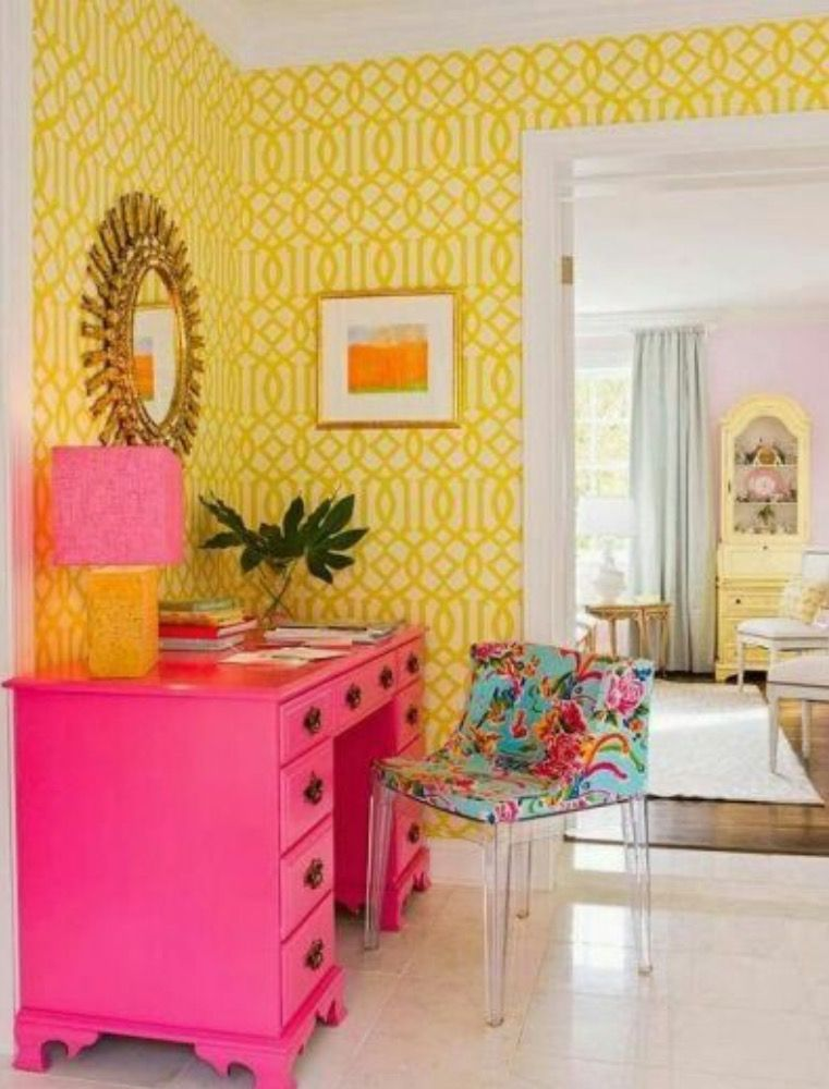 Pink dresser perfect for the creative teen girl. | Deco | Pinterest ...