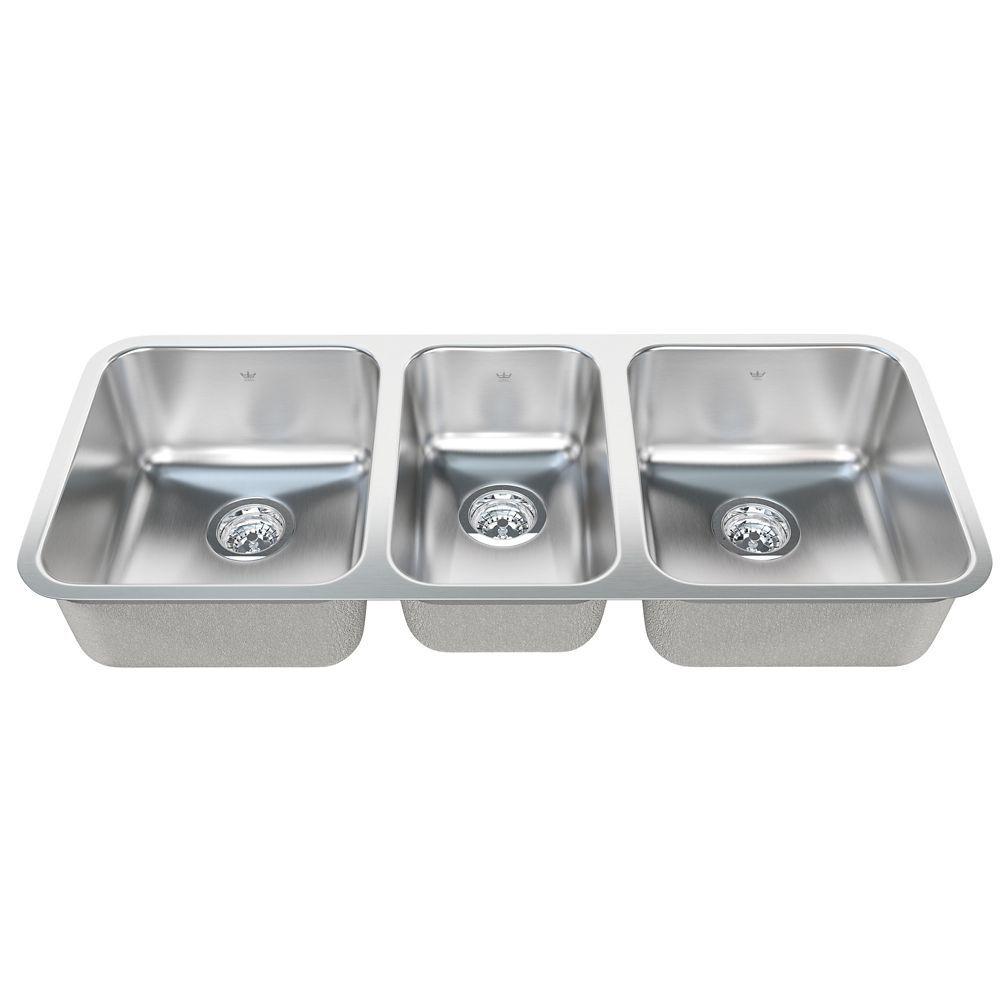 Triple Um 20 Ga Sink Sink Kitchen Redesign