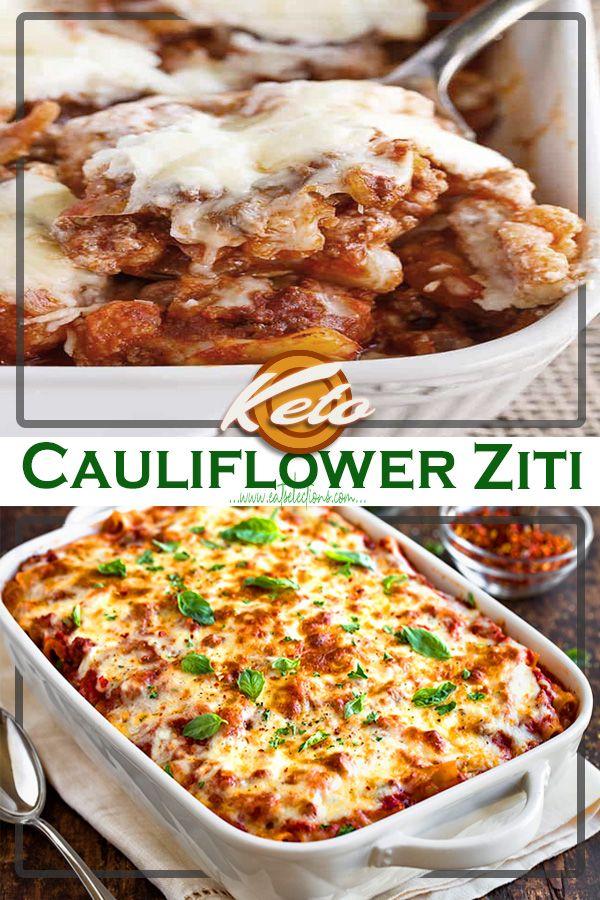 Photo of Keto Cauliflower ZitiThis Ziti Bolognese Cheed Baked Cauliflower recipe is perfe…