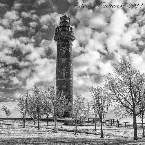 Tower of Lloyd B&W..
